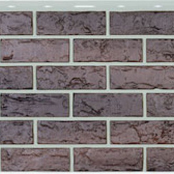 Сайдинг виниловый Nailite Hand-Laid Brick Char Brown
