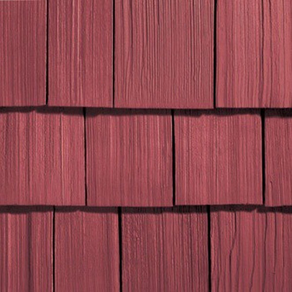 Сайдинг виниловый Nailite Rough-Sawn Cedar Barn Red