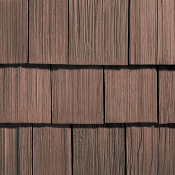 Сайдинг виниловый Nailite Rough-Sawn Cedar Coastal Brown