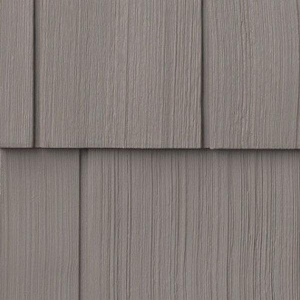 Сайдинг виниловый Nailite Rough-Sawn Cedar Coastal Clay